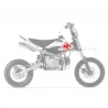 adhesivos CRF50 One Industrie - DC Shoes Pit bike Kit adhesivos Pitbike