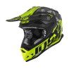 Casco JUST1 J32 PRO SWAT CAMO Amarillo Flúor