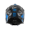 Casco JUST1 J32 PRO SWAT CAMO Azul Flúor